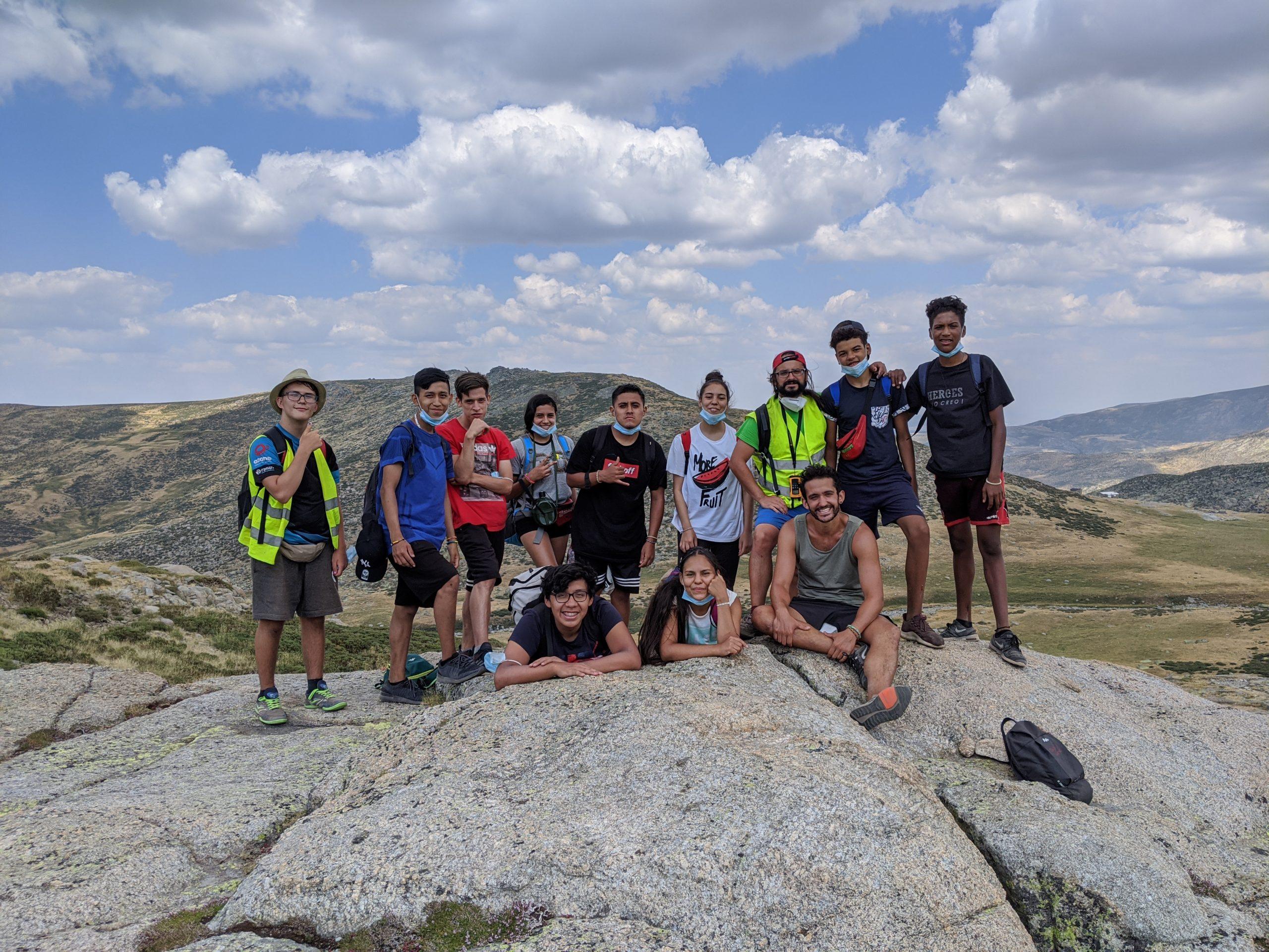Excursión en el Campamento de Verano